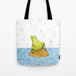 Rain Frog Tote Bag