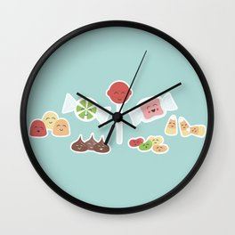 Happy Candy Wall Clock