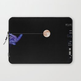 Moon Yo-yo Laptop Sleeve