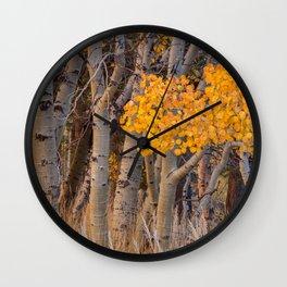 Autumn Scene Wall Clock