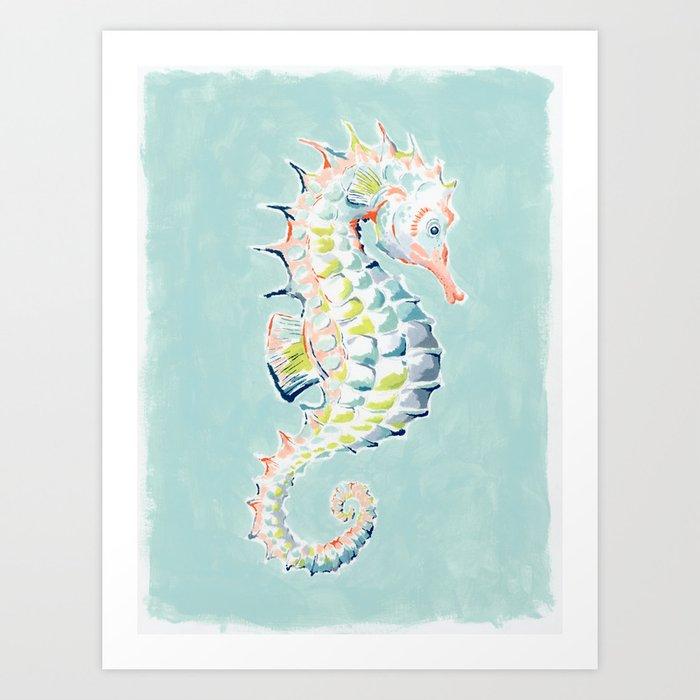 Seahorse Kunstdrucke