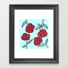Poppyish Framed Art Print