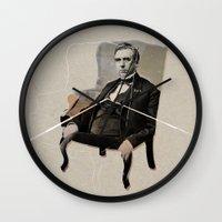 boss Wall Clocks featuring boss by ferzan aktas