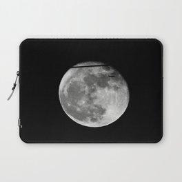 Airplane Passes 2016 Super Moon Laptop Sleeve