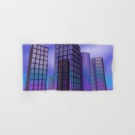 city -w5- Hand & Bath Towel