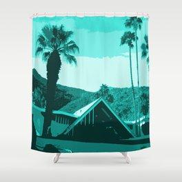 Swiss Miss House Shower Curtain