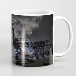 Steel Mill Cleveland, Ohio Industrial Coffee Mug