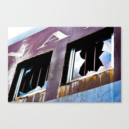 Weathered and Abandoned Canvas Print
