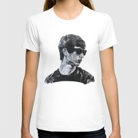 sunglasses T-shirts featuring Sunglasses by Charlotte Massey