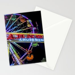 Ferris Wheel at Carnival Stationery Cards
