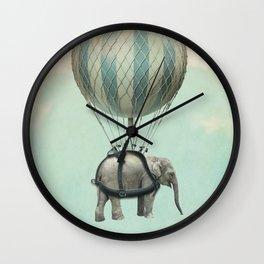 Jumbo the Flying Elephant Wall Clock