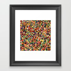 Star Cubes Geometric Art Print. Framed Art Print