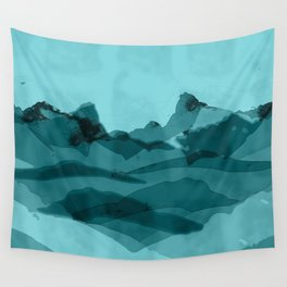 Mountain X 0.1 Wall Tapestry