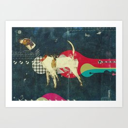 The secret life of the dogs Art Print