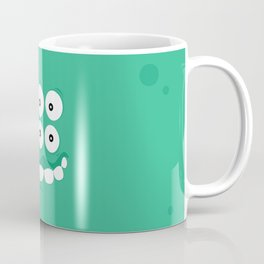 Psychos - Crazy Monsters (Turquoise) Coffee Mug
