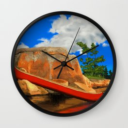 Day Tripping  Wall Clock