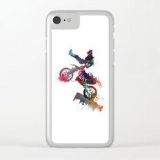 motor sport Clear iPhone Case