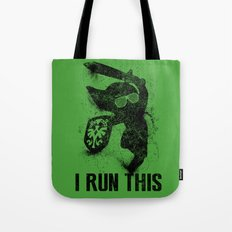 Link Boss Black Version Tote Bag