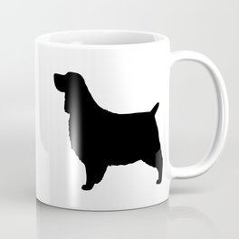 English Springer Spaniel Silhouette Coffee Mug
