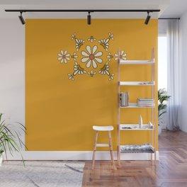 Talavera Orange Daisy Wall Mural