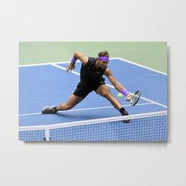 "Rafael ""Rafa"" Nadal Parera - Association of Tennis Professionals - Balearic Islands - Spain 89 Metal Print"