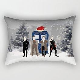Tardis Holiday With The Doctors Rectangular Pillow