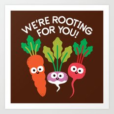 Motivegetable Speakers Art Print