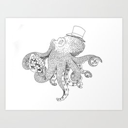 octopuslover Art Print