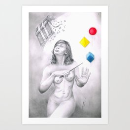 This Can't Be Right! Art Print