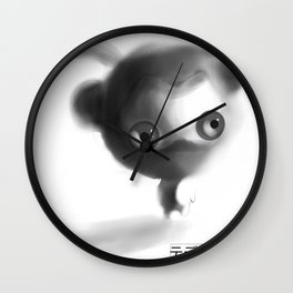 Teddy Ninja Wall Clock