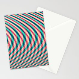440-500Hz sine wave chirp Stationery Cards