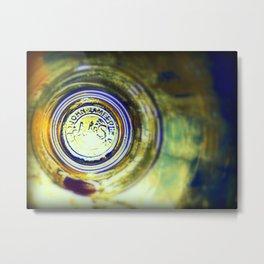 Through the Jameson Glass. Whiskey Ireland Photography Metal Print