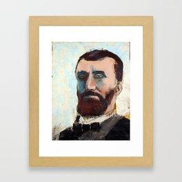 1881 Killed James A. Garfield (Charles Guiteau) Framed Art Print