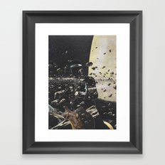 The Wild West Guide To The Galaxy Presents The Unknown Rider Killshot Framed Art Print