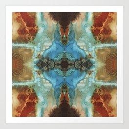PATTERN Mandala Abstract Art Colorful Geometric Patterns Art Print