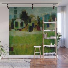 Agricultural Landscape Wall Mural