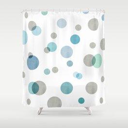 Winter Dots Shower Curtain