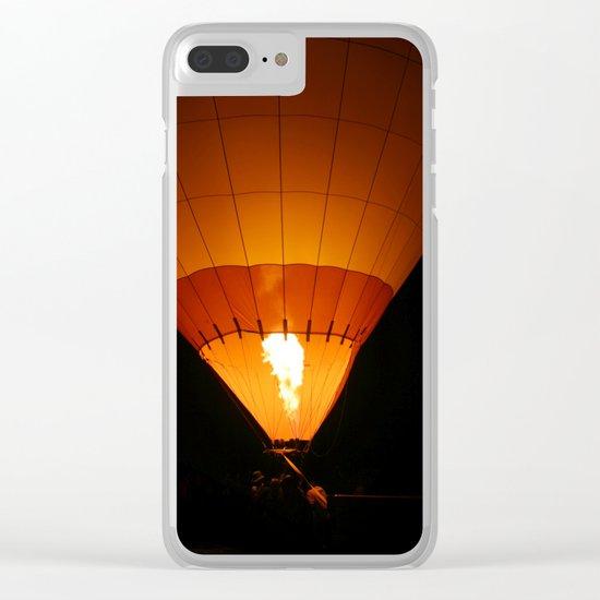 Hot Air Balloon Clear iPhone Case