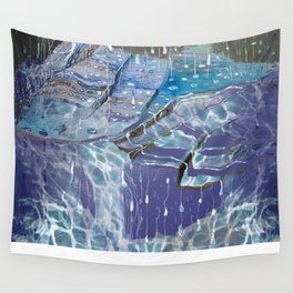 In Between Raindrops Wall Tapestry