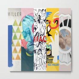 Macmiller Mix01 Metal Print