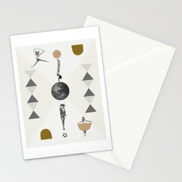 The great world circus Stationery Cards
