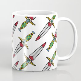taditional Dagger pattern Coffee Mug