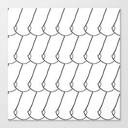 side boob Canvas Print
