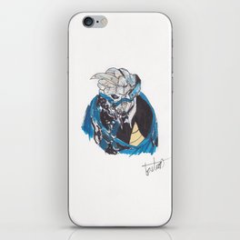 garrus vakarian -vmass effect iPhone Skin