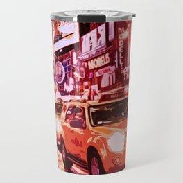 Glittering Light of New York City Travel Mug