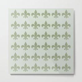 Classy Elegant Pattern Metal Print