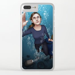 Fitzsimmons - Ninety Feet on One Breath Clear iPhone Case