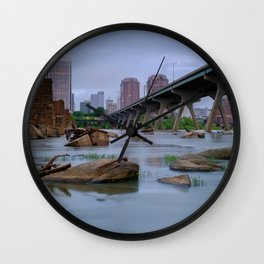 Richmond Cityscape from the James Wall Clock