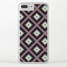 Starry Tiles in atBMAP 00 Clear iPhone Case