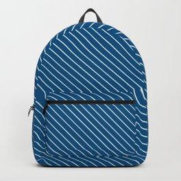 Snorkel Blue Stripe Backpack